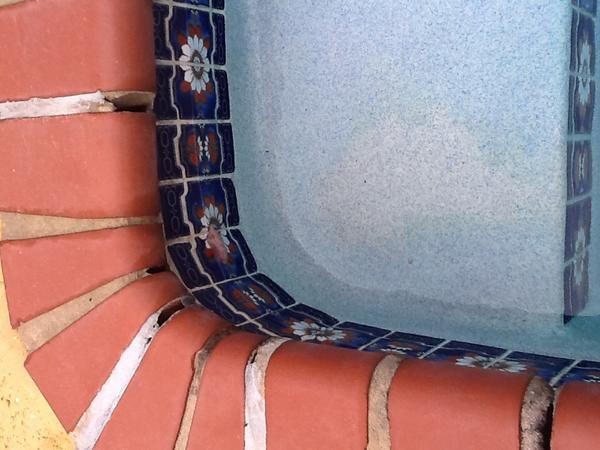 Pool Brick Coping Need Regrouting Ceramic Tile Advice Forums John Bridge