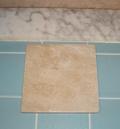 Tiling Over Tile Bathroom