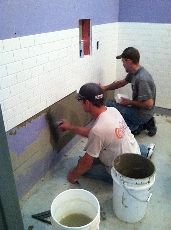Trowel Size For Shower Wall 3x6 Tile
