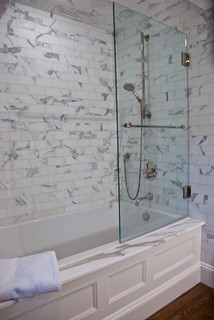 Installing Corner Tub Shower With Panel Ceramic Tile Advice Forums