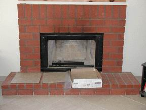 Tiling over red brick fireplace Tile Forum/Advice Board