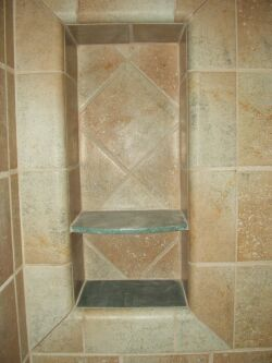 Setting Tile In A Niche Ceramic Tile Advice Forums