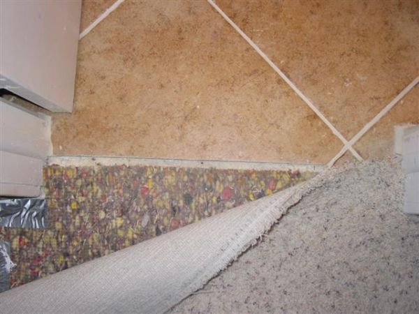 Wonderful Carpet to Tile Transition-How to info - Ceramic Tile Advice Forums  QW42