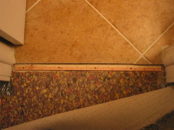 Finest Carpet to Tile Transition-How to info - Ceramic Tile Advice Forums  PA04