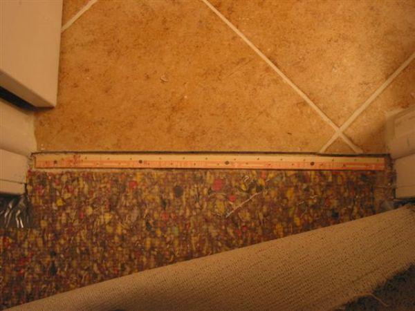 Carpet To Tile Transition How Info Ceramic Advice Forums John Bridge