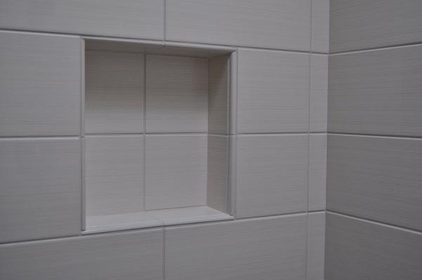 Shower Niche And Mosaic Ceiling Question Ceramic Tile