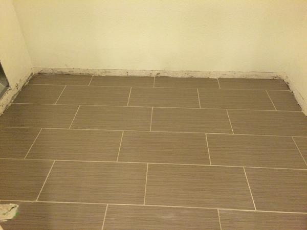 Multi Room 12x24 Tile Layout Ceramic Tile Advice Forums John