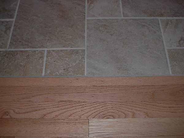 Please Post Tile To Wood Transition Pics Ceramic Tile Advice