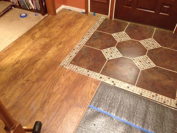 Schluter Metal Transition To Laminate Floor Expansion Gap Ceramic