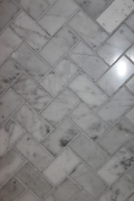 Uneven Color On Gray Grout Ceramic