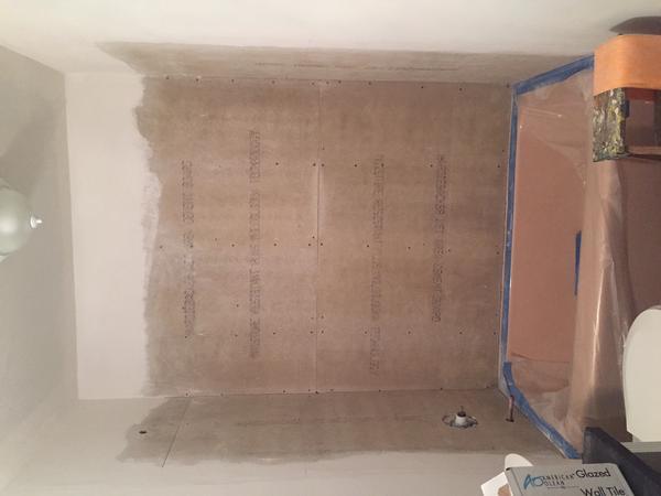 Kerdi Membrane Over Drywall Mud Ceramic Tile Advice Forums John Bridge