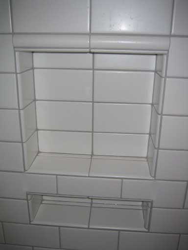 Tiling Bonsal Niche With Subway Tile Ceramic Tile Advice