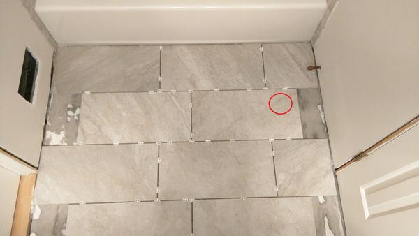 12x24 Tile Floor Layout In Small Bathroom Ceramic Tile Advice