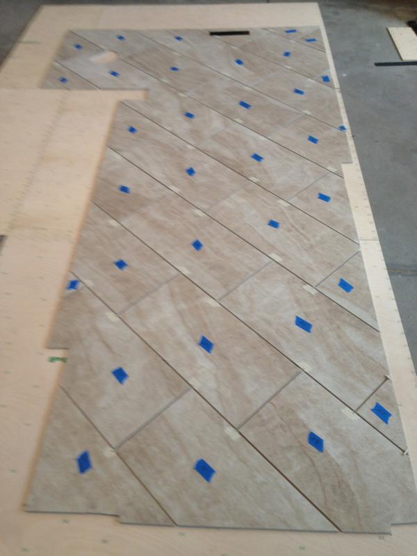 12x24 Porcelain Tile Stagger Question Ceramic Tile Advice Forums