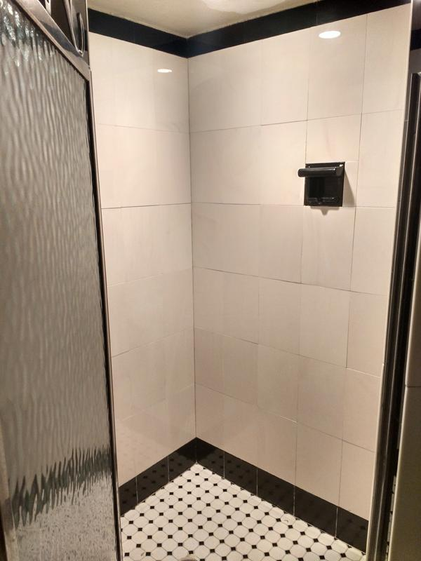 How To Regrout Vitrolite Shower Stall From 1930s Ceramic Tile