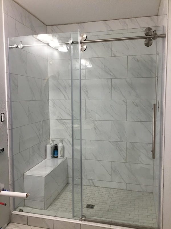 Shower Door Install Instruction Require S Into Curb