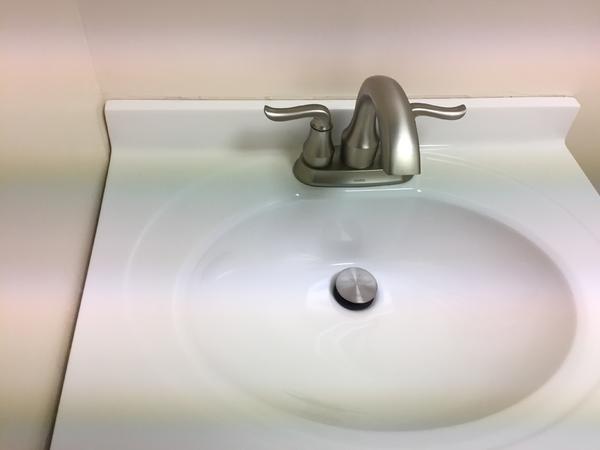 Gap Between Wall And Bathroom Vanity Wondering If I Can Tile Ceramic Tile Advice Forums John Bridge Ceramic Tile