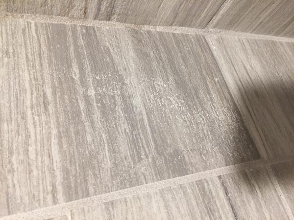 Any Tricks On Getting Grout Off Textured Tile Face Ceramic