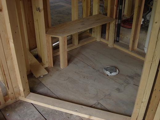 Shower Bench Block Vs Frame Ceramic Tile Advice
