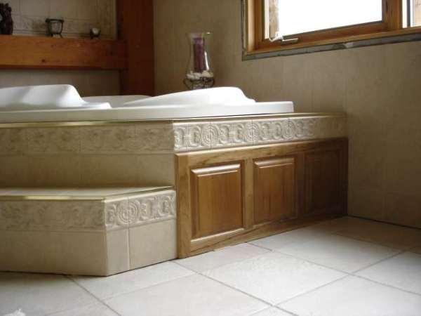 Tub Deck And Surrounding Walls Kerdi Or Cbu Ceramic