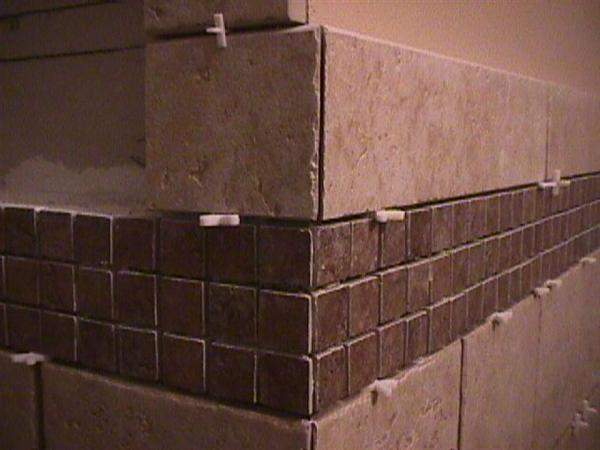 Accent Strip Around Outside Corner Ceramic Tile Advice Forums John Bridge