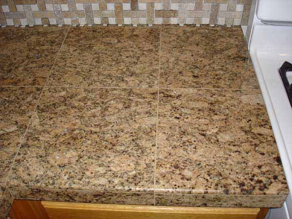 Granite Tiles Countertop : Granite tile counter top - Ceramic Tile Advice Forums - John Bridge ...