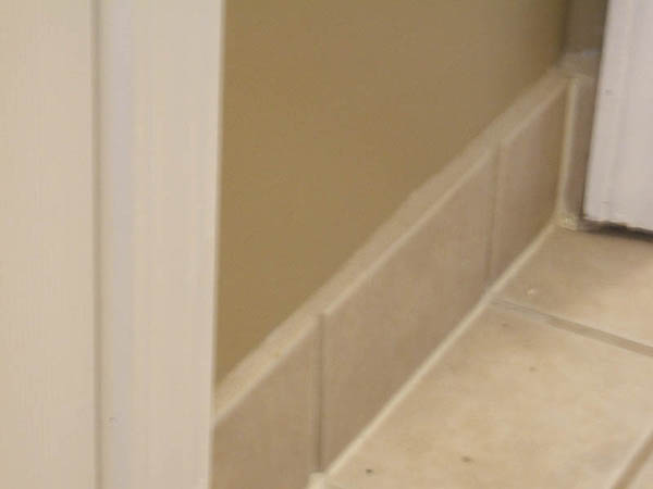 Tile Baseboard Ceramic Tile Advice Forums John Bridge