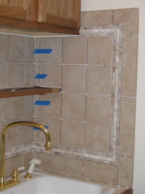Rialto White Tile Backsplash Designs