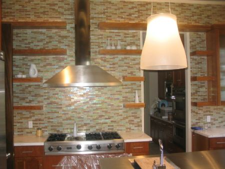 glass tile backsplash pictures. Confused about glass tile for