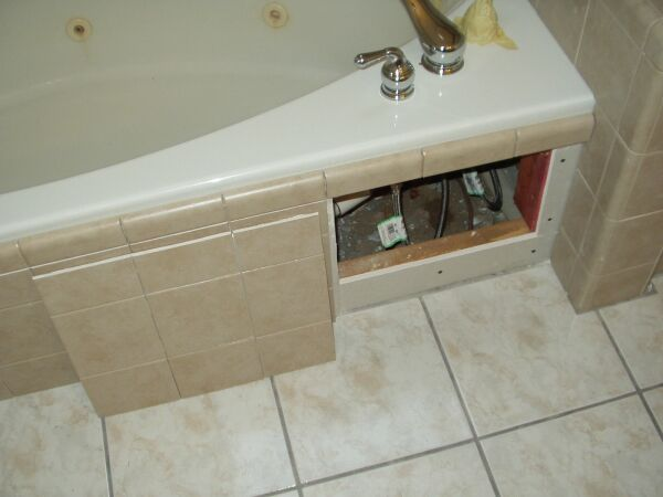 Access Panel For Jacuzzi Ceramic Tile Advice Forums