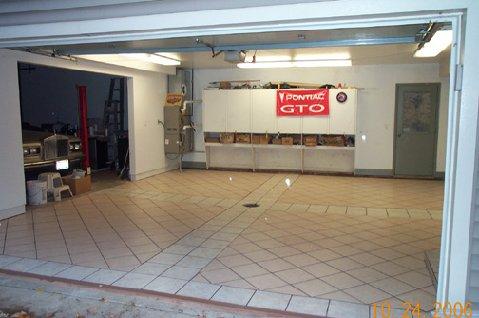 Tiling Garage Floor Good Idea What Tile Size Etc Ceramic Tile