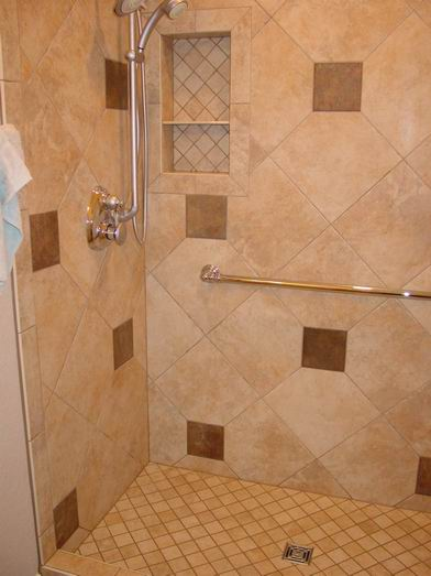 Corner Line Up With Diagonal Layout Ceramic Tile Advice
