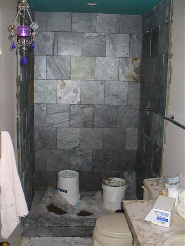 Slate Tile Shower Help Ceramic Advice Forums John