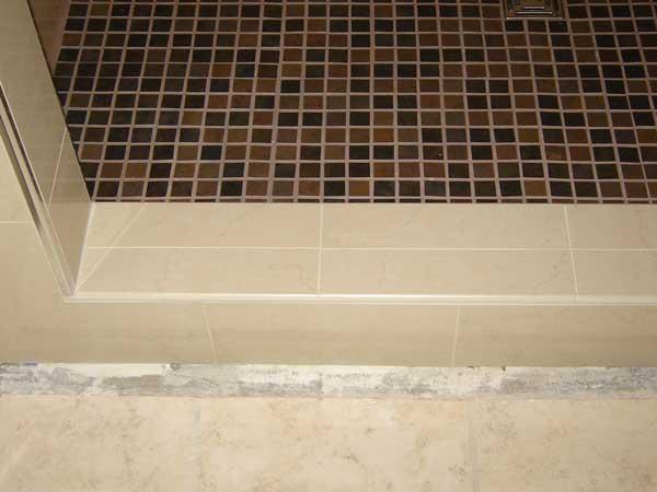 Shower Curb Tile Ceramic Tile Advice Forums John