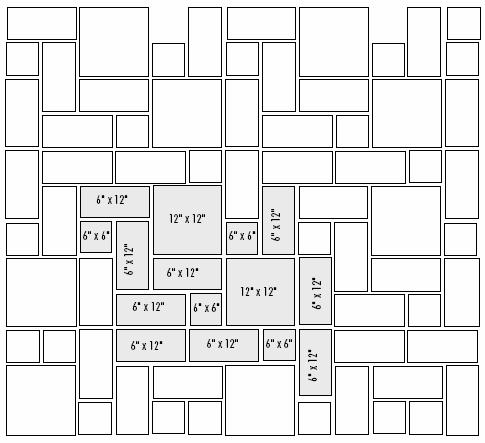 tile pattern questions ceramic tile advice forums john bridge ceramic tile. Black Bedroom Furniture Sets. Home Design Ideas