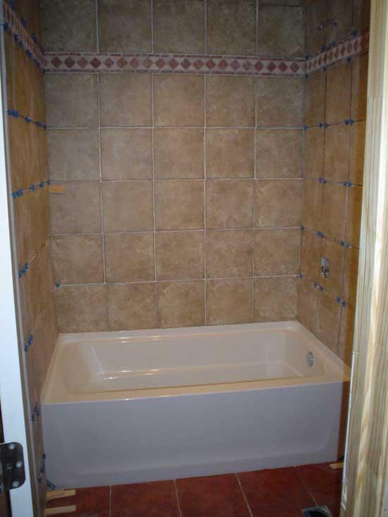tile to fiberglass tub ceramic tile advice forums john bridge ceramic tile. Black Bedroom Furniture Sets. Home Design Ideas