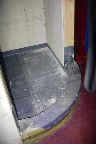 Radius Curved Curb For Corner Shower Ceramic Tile Advice