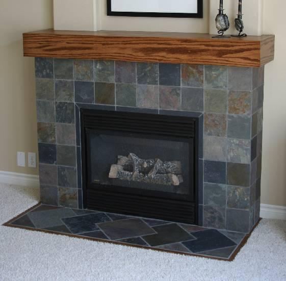 Porcelain Tile Sealer Gary's Slate Fireplace Project - Ceramic Tile Advice ...