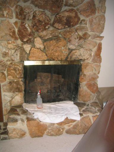 Regrouting Large Rocks On Fireplace Ceramic Tile Advice Forums - Ceramic tile that looks like rocks