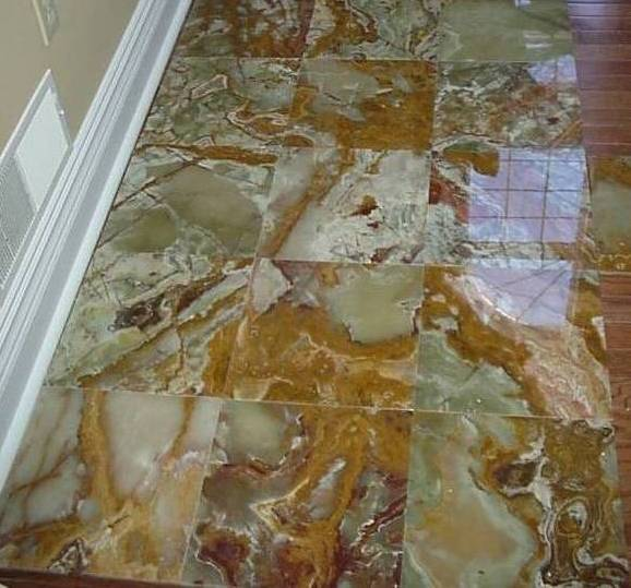 How to put down floor tile
