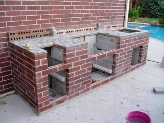 Outdoor kitchen grout seal - Ceramic Tile Advice Forums ...