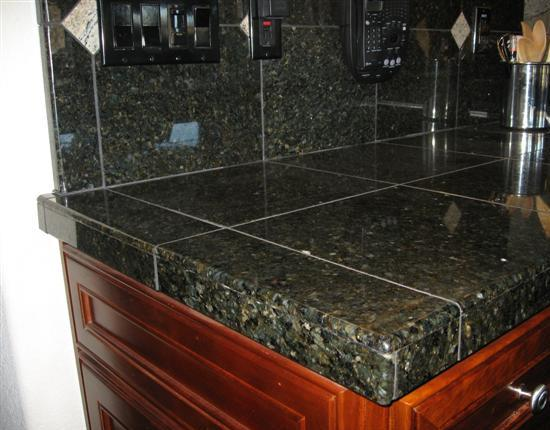 how to build kitchen countertop base for granite tile