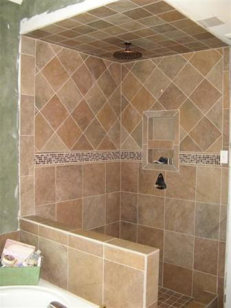 Delighted Tile Shower Layout Pictures Inspiration - The Best ...