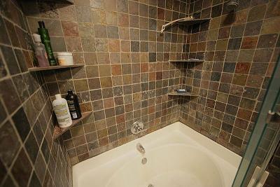 Crumbling slate tile in shower - Ceramic Tile Advice Forums - John Bridge Ceramic Tile