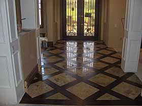 Sandman S Floor Travertine And Engineered Wood Ceramic
