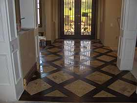 Sandman S Floor Travertine And Engineered Wood Ceramic