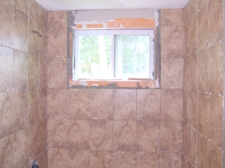 Bullnose Around A Window In Shower Ceramic Tile Advice Forums - Ceramic tile places near me