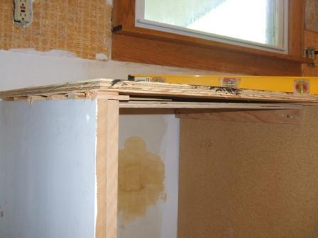 Countertop prep over dishwasher - Ceramic Tile Advice Forums - John ...