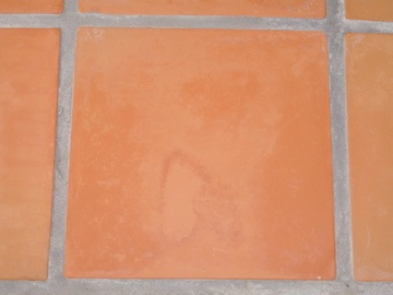 Outdoor Saltillo Tile Finish Removal Amp Blotchy Ceramic