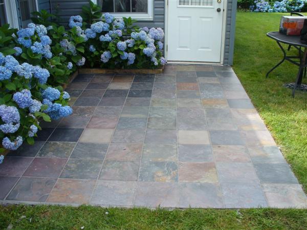 Slate Tiles On Patio Questions Ceramic Tile Advice